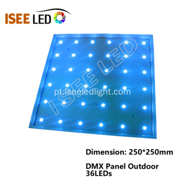 Luz do painel DMX512 do diodo emissor de luz do RGB do teto do disco