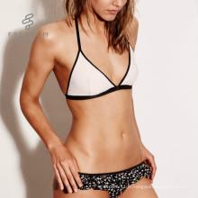 En gros sexy maille en soie nouveau design lingerie pleine coupe noir maille bralette ensemble intime bralette plus la taille