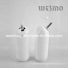 Weißer Küchenartikel Keramiköl Topf