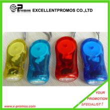 3 светодиодных Динамо Рука Пресс Зарядка фонарик факел лампы (EP-T9012)