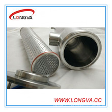 Wenzhou fabricante Filtro de tubería aislante de acero inoxidable