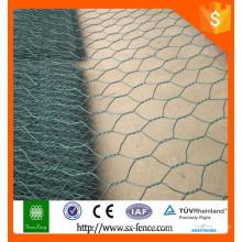 Hochwertiges Gabion Kastengewebe / galvanisierter Gabionkasten / Stein gabion Kasten / PVC