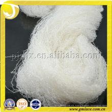 100% hilo reflectante chino de la pluma para hacer punto de la ropa con alta elasticidad