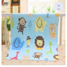 Мягкий и красивый реактивная печать хлопок фланель ткани для детской одежды