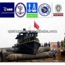 used for pontoon bridge installation natural rubber inflatable boat tube