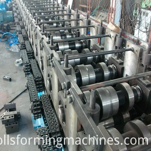 mail roll forming machine
