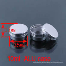 10g Cosmético / Creme / Loção / Lip Balm Caixa De Alumínio / Caixa / Jar