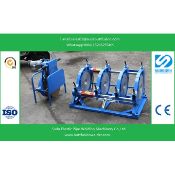 *90mm/355mm HDPE Pipe Fittings Butt Welding Machine