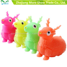 Illuminer spike yoyo mouton ball faveurs de fête jouet d'enfant