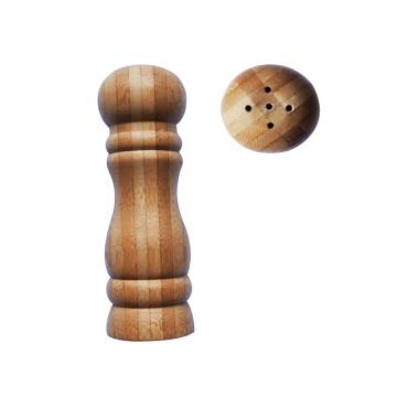 Бамбуковая солонка или мельница для перца