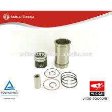 Moteur YuChai YC6J Piston, segment de piston, axe de piston, chemise de cylindre J4000-9000200B *