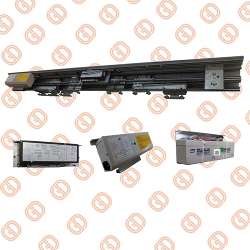 GS604 Telescopic Sliding Door Operators with 6063 Aluminum