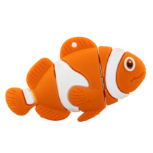 China New Product for Pvc Cartoon Usb Flash Drive New Products Lovely Cartoon Fish USB Stick export to Tunisia Factories