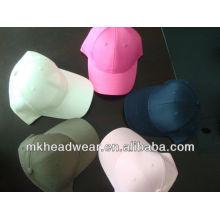 Promotion plain sechs Tafeln Sport Cap
