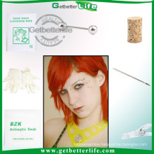 Sterilized Difference Barbell Pack Body Piercing Jewelry