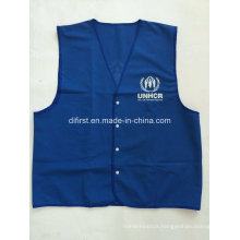 Blue Safety Vest for Unhcr