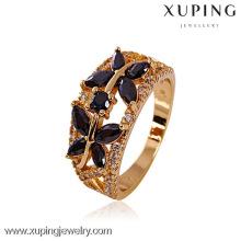 11206- China Wholesale Xuping Moda 18k banhado a ouro anel de mulher