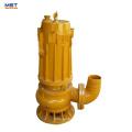 bomba de aguas residuales sumergible