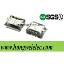 Conector USB Smtmicro tipo 5 Pinb