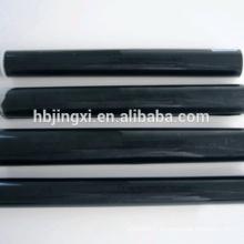 Feuille de caoutchouc de silicone mince collante noire / tapis