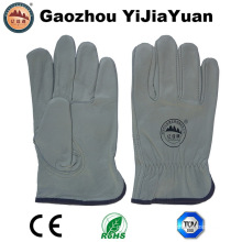 Leather Safety Working Industrial Drivers Gloves