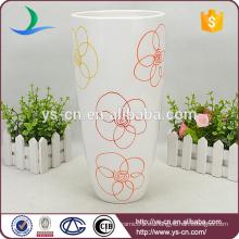 Productos de calidad Venta al por mayor floreros de cerámica para la boda