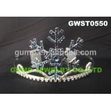 Изготовленный на заказ кристалл зрелище крона горный хрусталь тиара