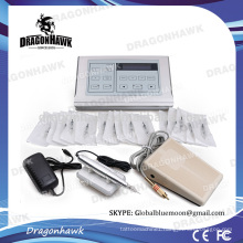 Professional Permanent Makeup Tattoo Kits With LCD Power Supply