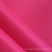 Diamond Grids Nylon-Like Polyester Fabric with PVC