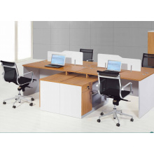 2.8m durable modish brightness aluminium office workstation