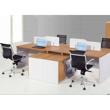 2.8m durable modish brightness aluminium office workstation