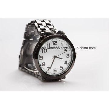 Logo personnalisé de montre de cadeau de promotion bon marché