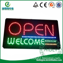 hidly new design animated open led signs China