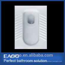 EAGO high quality ceramic front tray way Squat pan with elbow DA2270