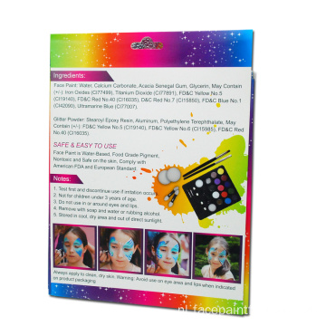 Kids Christmas Parties Makeup Paint For Face schilderij