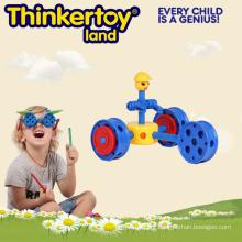 Plastic Creative Maginetic DIY Blocos de Construção Brinquedos