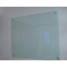 Gehärtetes Glas Weißes Brett für Büro unter Verwendung