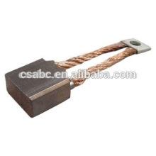 copper carbon brush for motors