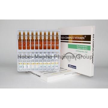Hautfreundliche Komplex Vitamin B, Vb, B12, B6 Vita B Injektion