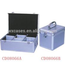 discos de alta qualidade 390 & 120 CD alumínio CD casos vendas por atacado de China fabricante