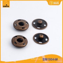 Botão de pressão de costura para desgaste de malha BM10044