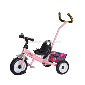 China manufacturer promote cheap price baby stroller/three wheel baby tricycle with training handle bar/baby stroller tricycle