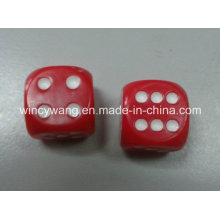 Plastic Dice with Round Corner (HL101)