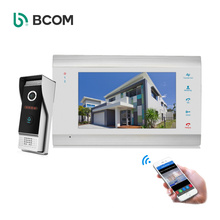 ZhuHai Bcomtech 86706 WIFI system 7 Inch Video Door Phone With Motion detection for apartment