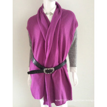 Lady Fashion Cashmere Knitted Winter Scarf in Plain Colors (YKY4387)