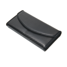 Carbon fiber women wallet