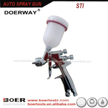 HVLP spray gun Mini Spray gun STI PRO plated chrome