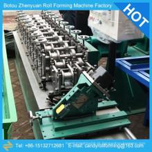 Leichte Stahl Kiel kalt rollen Formmaschine, Metall-Bolzen und Spur Kaltumformung Produktionslinie