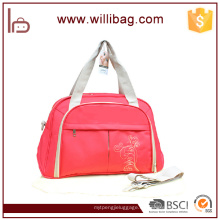 Bolsas de pañales para bebés Proveedor Bolsa para bebés Bolsa de pañales para bebé Messenger Bag Jirafa Canvas