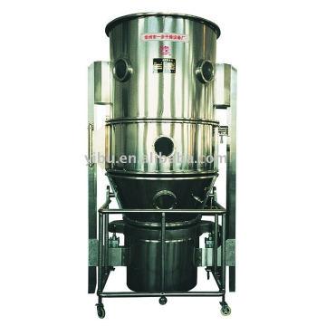 Secador de Fluidização Vertical usado na alimentação